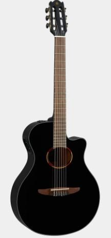 Yamaha NTX1 BL Acoustic Electric Classical Guitar, Black