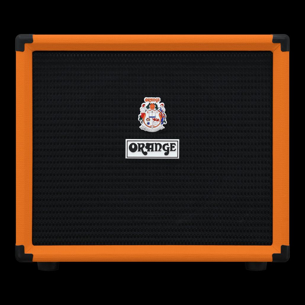 Orange OBC112 1x12 Loaded with 1 Lavoce 12 Neodymium speaker, 8 ohm, 400 Watts handling, 15mm birch ply, orange