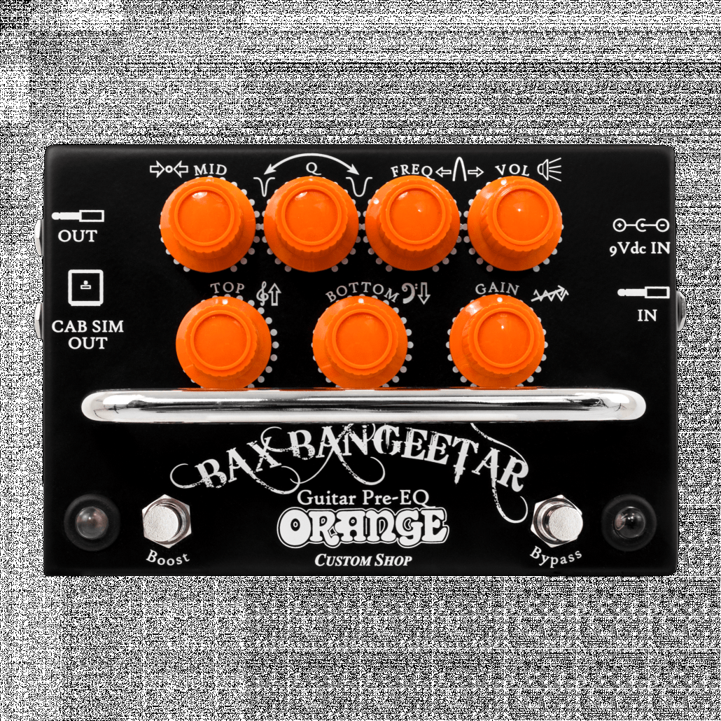 USED - Orange BAX-BANGEETAR BLACK Guitar Pre-EQ Custom Shop