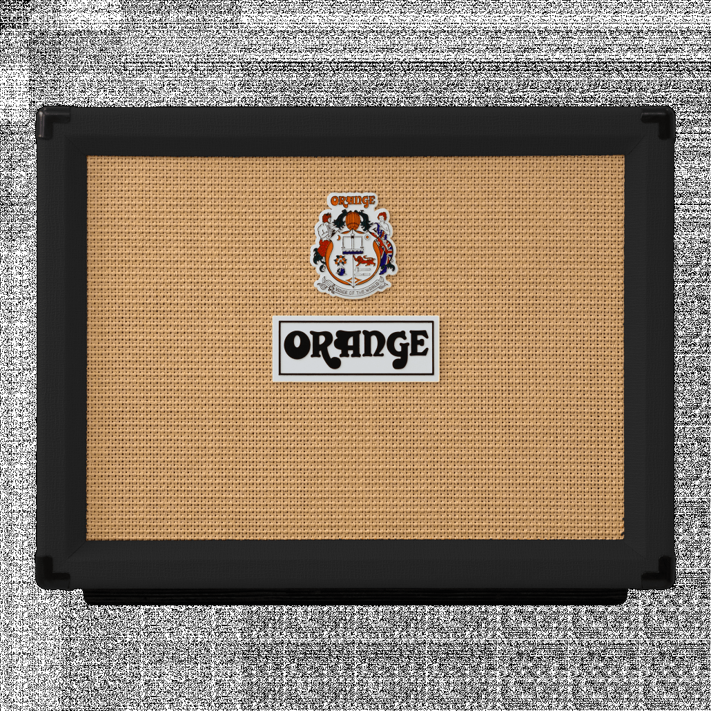 Orange ROCKER-32 BLACK 30/15 watt combo, 2X10 VOTW gold label spkr, natural/dirty channel, mono or stero FX return, black