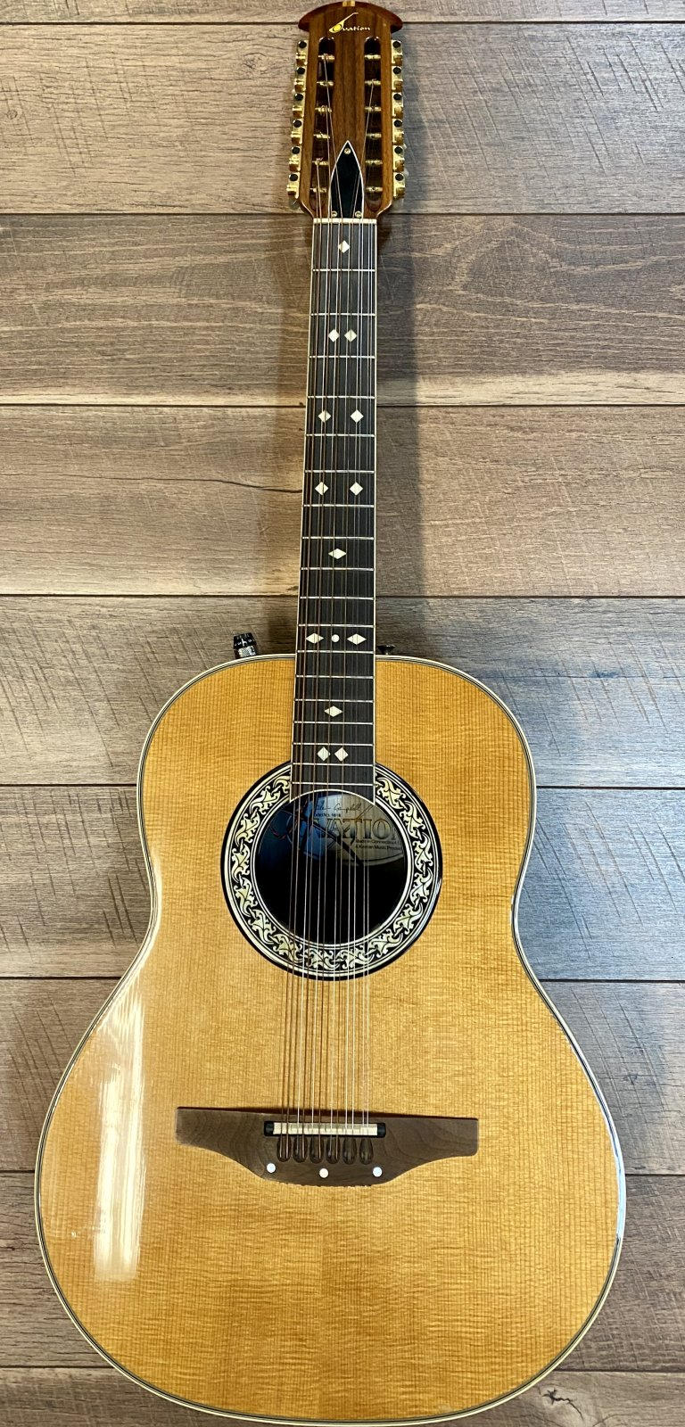 USED - Ovation Model 1618 12-String Acoustic