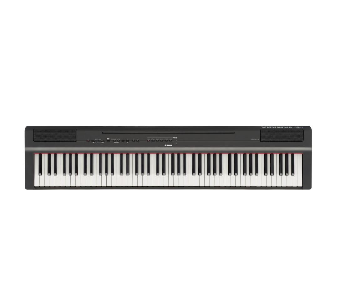 Yamaha P125B Black 88-Note, Weighted Action Digital Piano