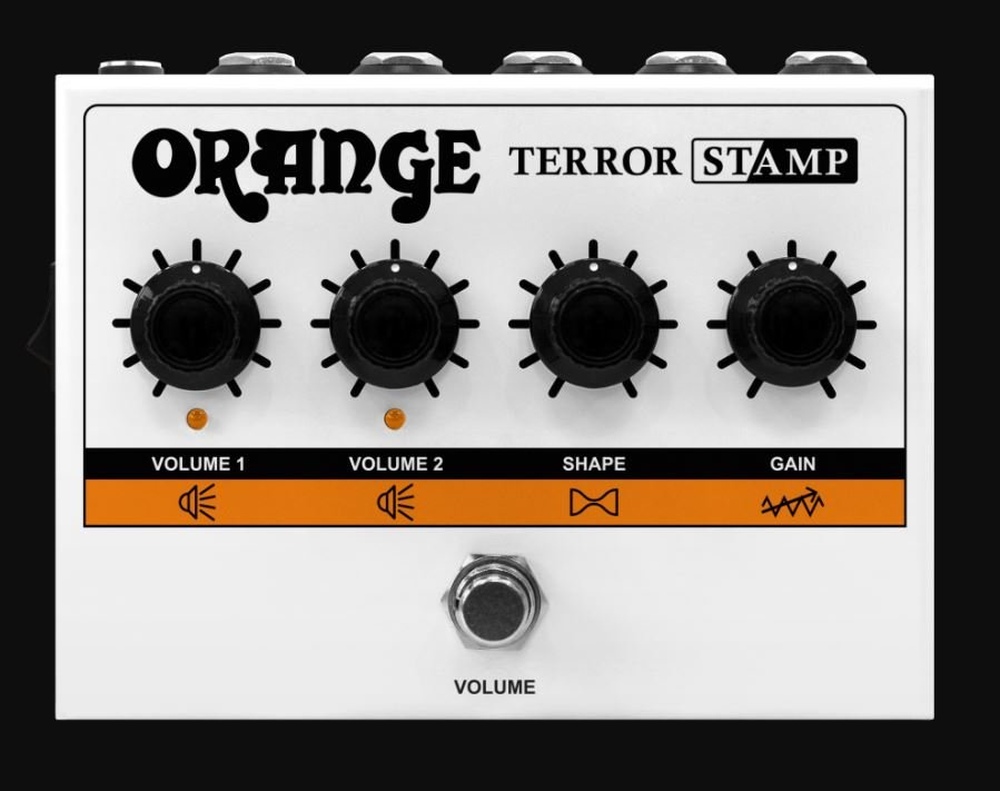 Orange PD-TERROR STAMP Terror Stamp Class AB 20 Watt Guitar Amp in a Pedal
