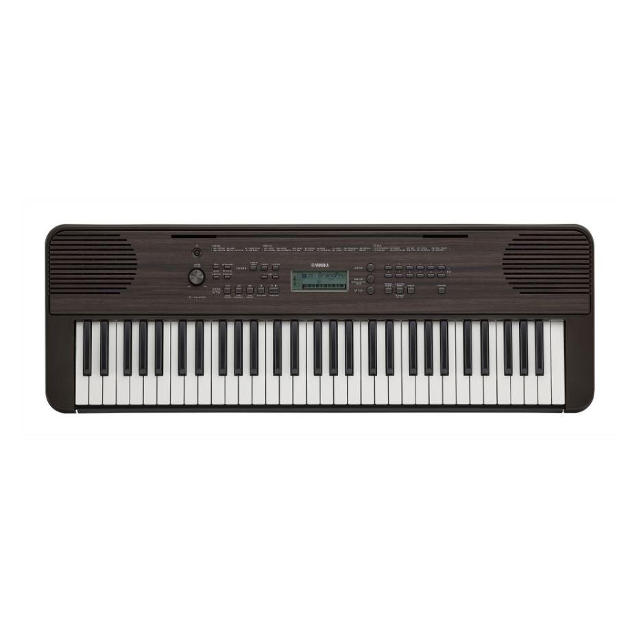 Yamaha PSRE360DW Dark Walnut Portable Keyboard