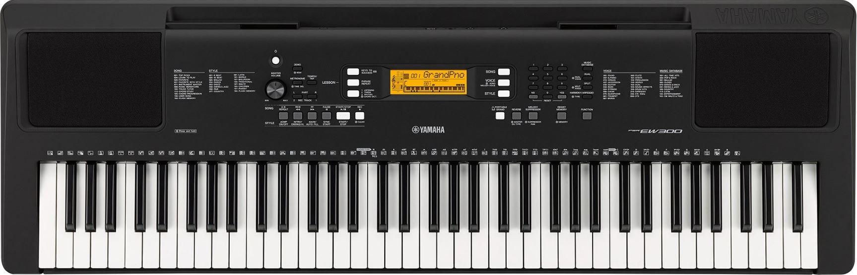 Yamaha PSREW300 76-Key Portable Keyboard