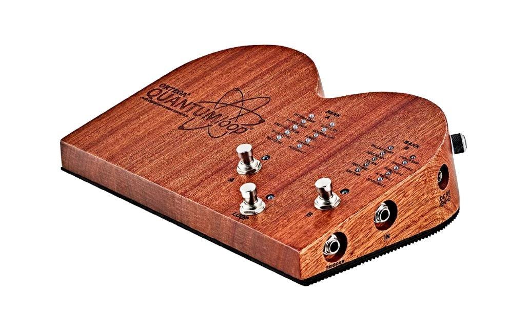 Ortega QUANTUMLOOP Multi-Digital Percussion Stomp Box W/ Built-In Looper