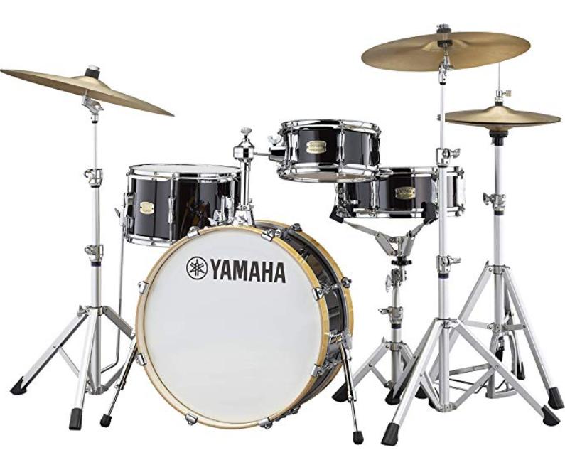 Yamaha SBP0F4HRB Stage Custom All Birch Shell Pack Raven Black