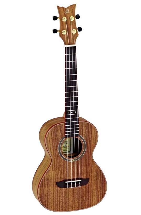 Ortega RUACA-TE Timber Series Tenor UkuleleW/Bag
