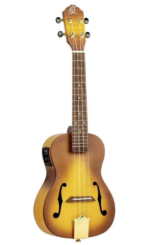 Ortega RUSL-HSB Custom Built Series Concert UkuleleW/Bag