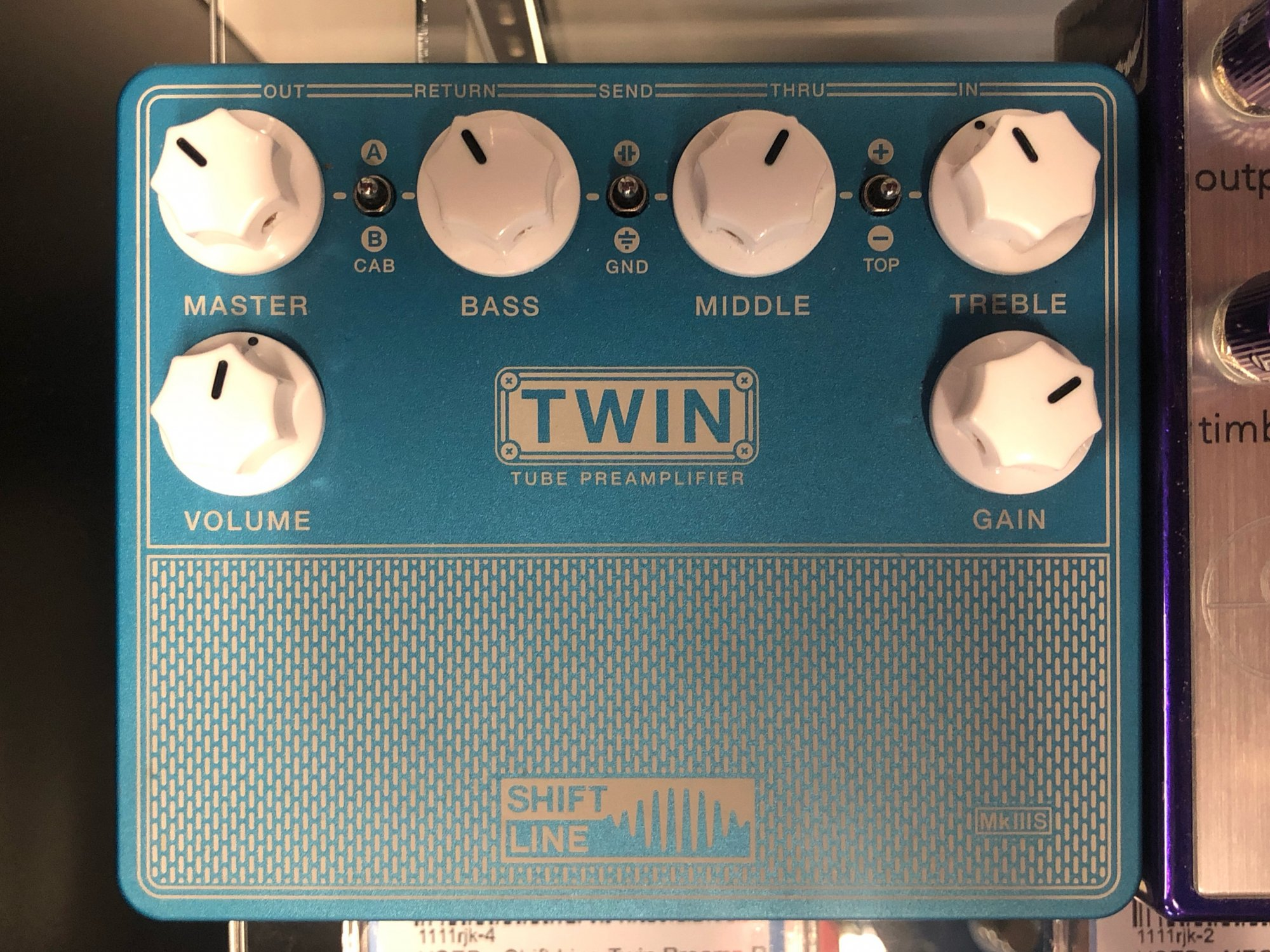 USED - Shift Line Twin Preamp Pedal