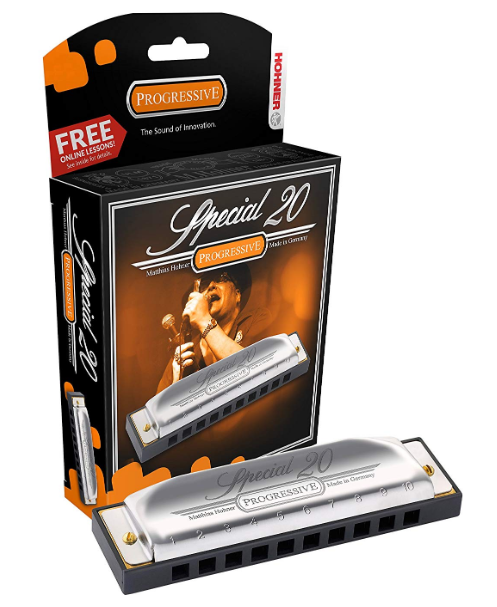 Hohner 560PBX-D Progressive Series Special 20 in the Key of D