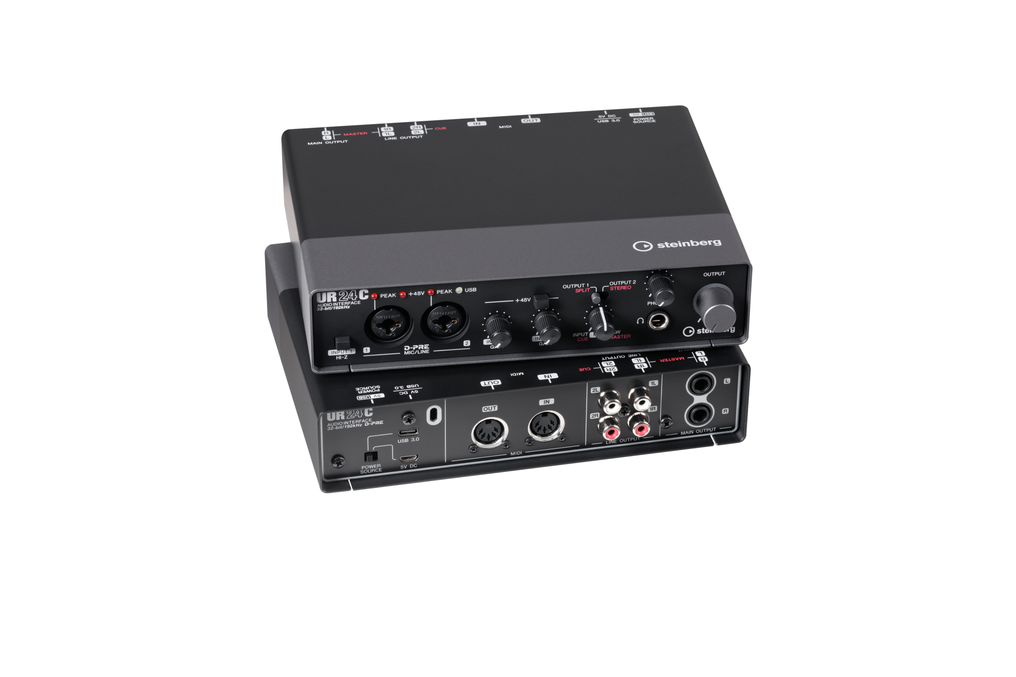 Steinberg UR24C 2in/4out USB3.0 Type C Audio Interface w/DJ Mode