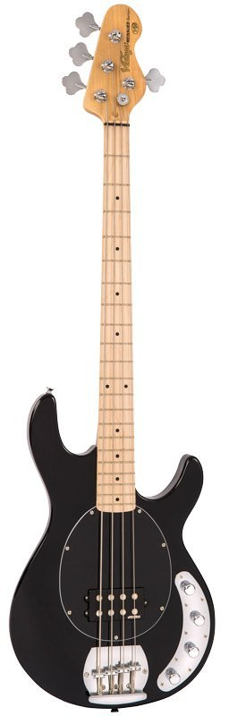 Vintage Reissued V964BLK Bass Gloss Black