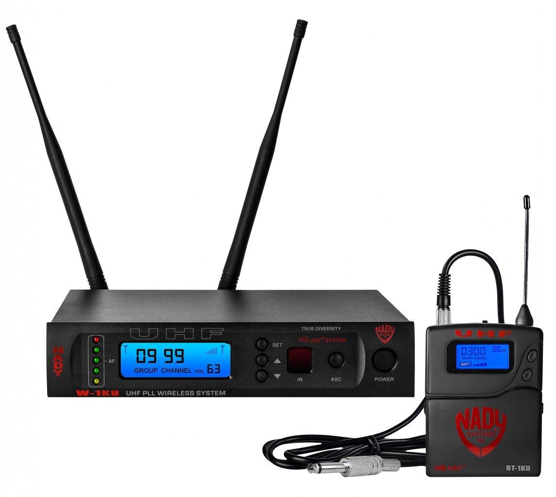 NADY W-1KU GT Pro UHF Instrument Wireless System