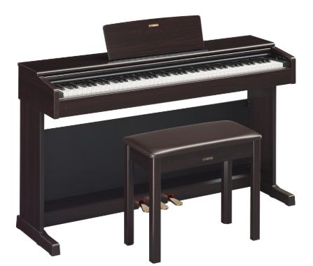 Yamaha YDP144R Dark Rosewood Arius Digital Piano w/Bench