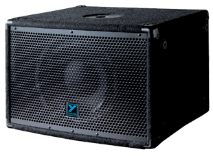 Yorkville YX10SP 250 Watts - Powered - 1/10 Compact Sub Stereo XLR Inputs & Outputs With High Pass Filter