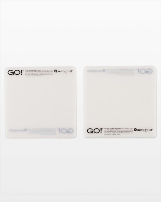 GO! Cutting Mat-6 x 6 (2-Pack)