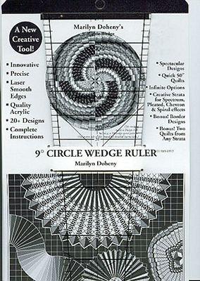 9-Degree Ruler #3 18in