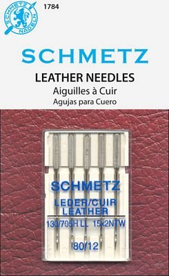 Schmetz Leather Needles 5-pk 80/12