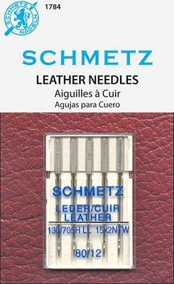 Schmetz Leather Needles 5-pk 80/12