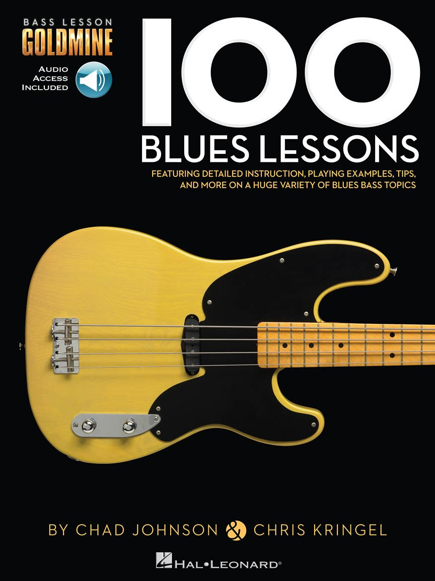 100 Blues Lessons Bass Lesson Goldmine Series