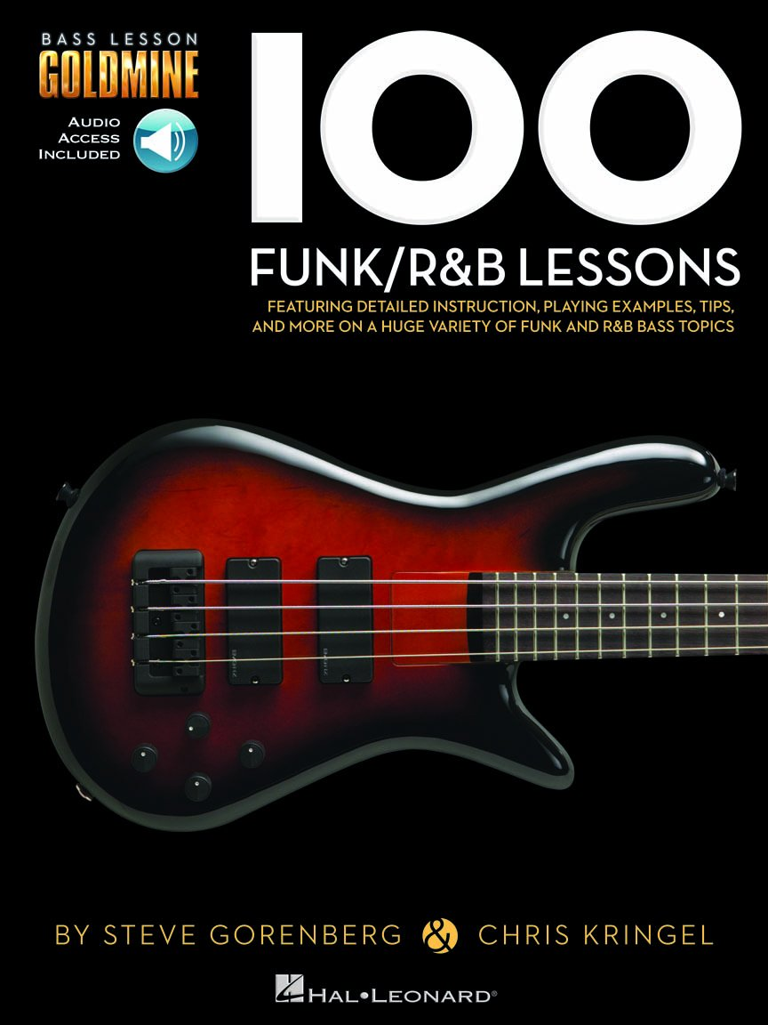 100 Funk/R&B Lessons Bass Lesson Goldmine Series