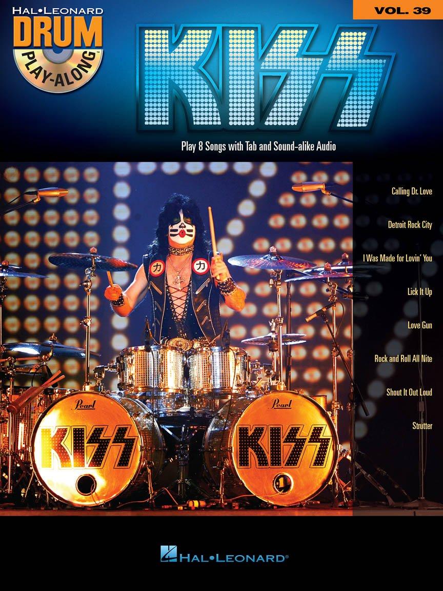 Hal Leonard Kiss Drum Play Along Vol. 39
