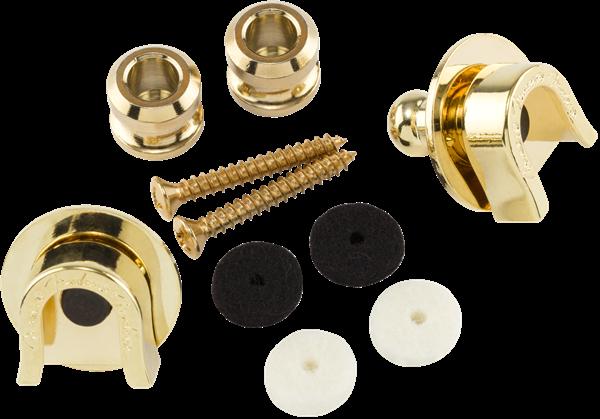 Fender Elite Strap Locks - Gold
