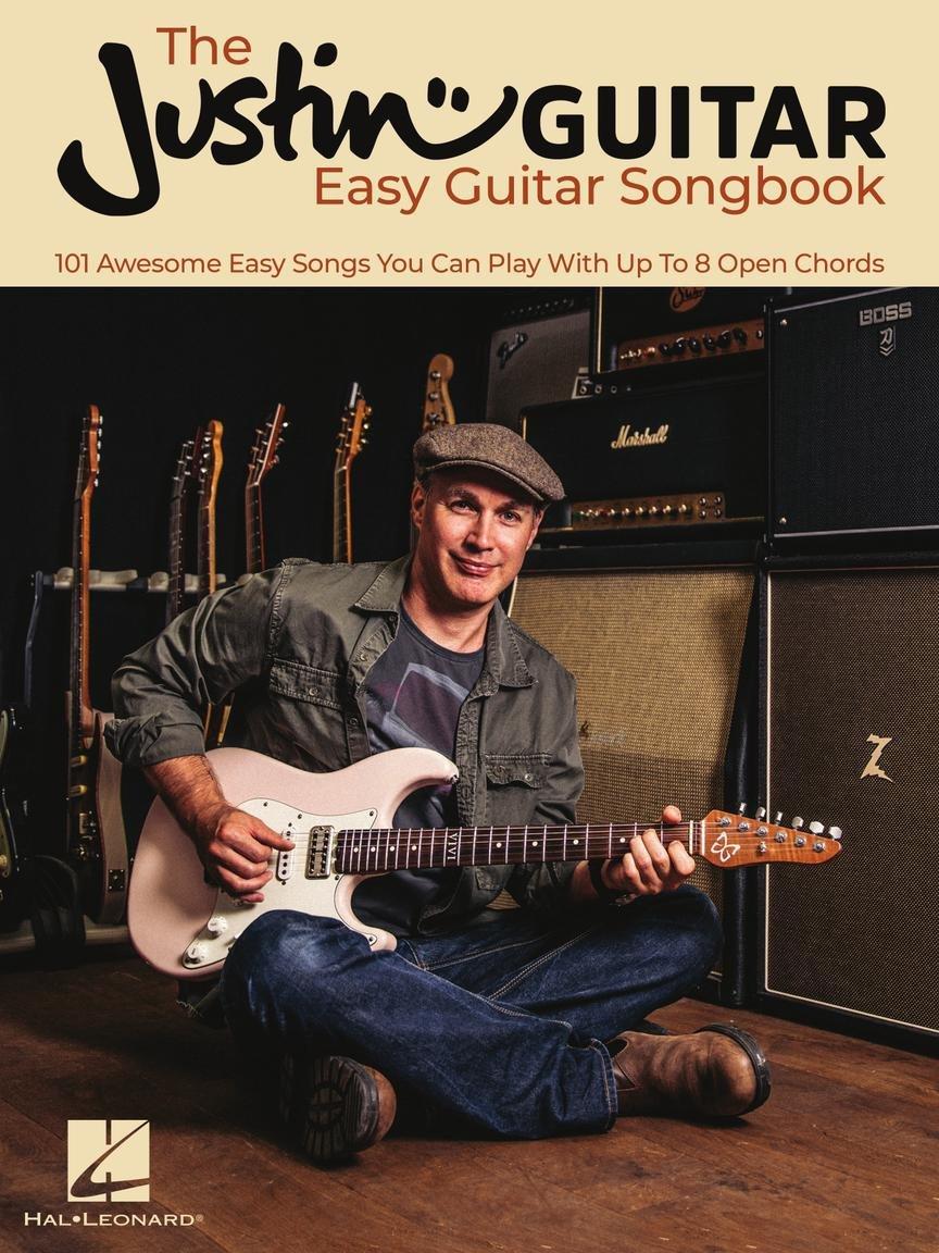 The Justin Guitar Easy Guitar Songbook