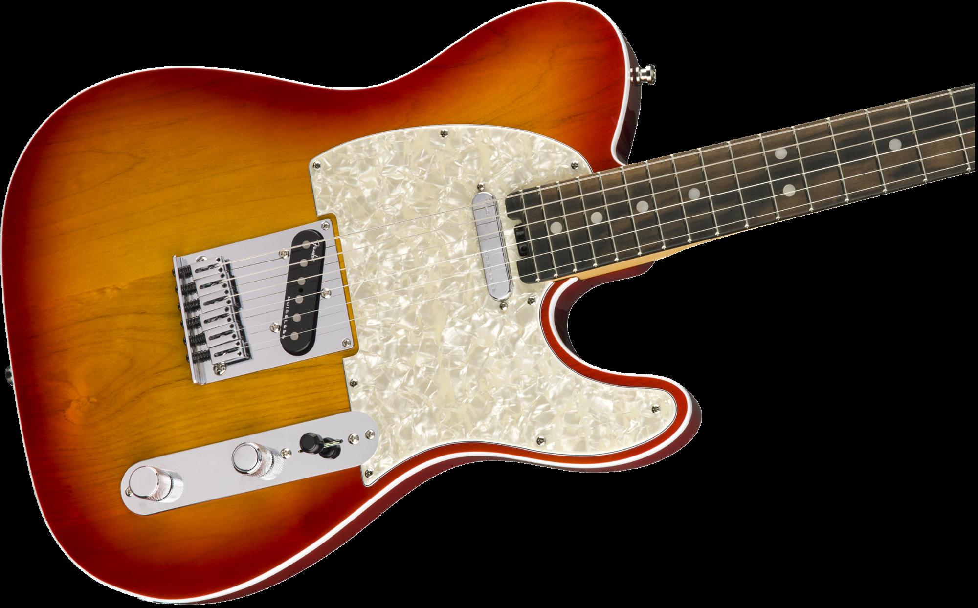 Fender American Elite Telecaster-Aged Cherry Burst