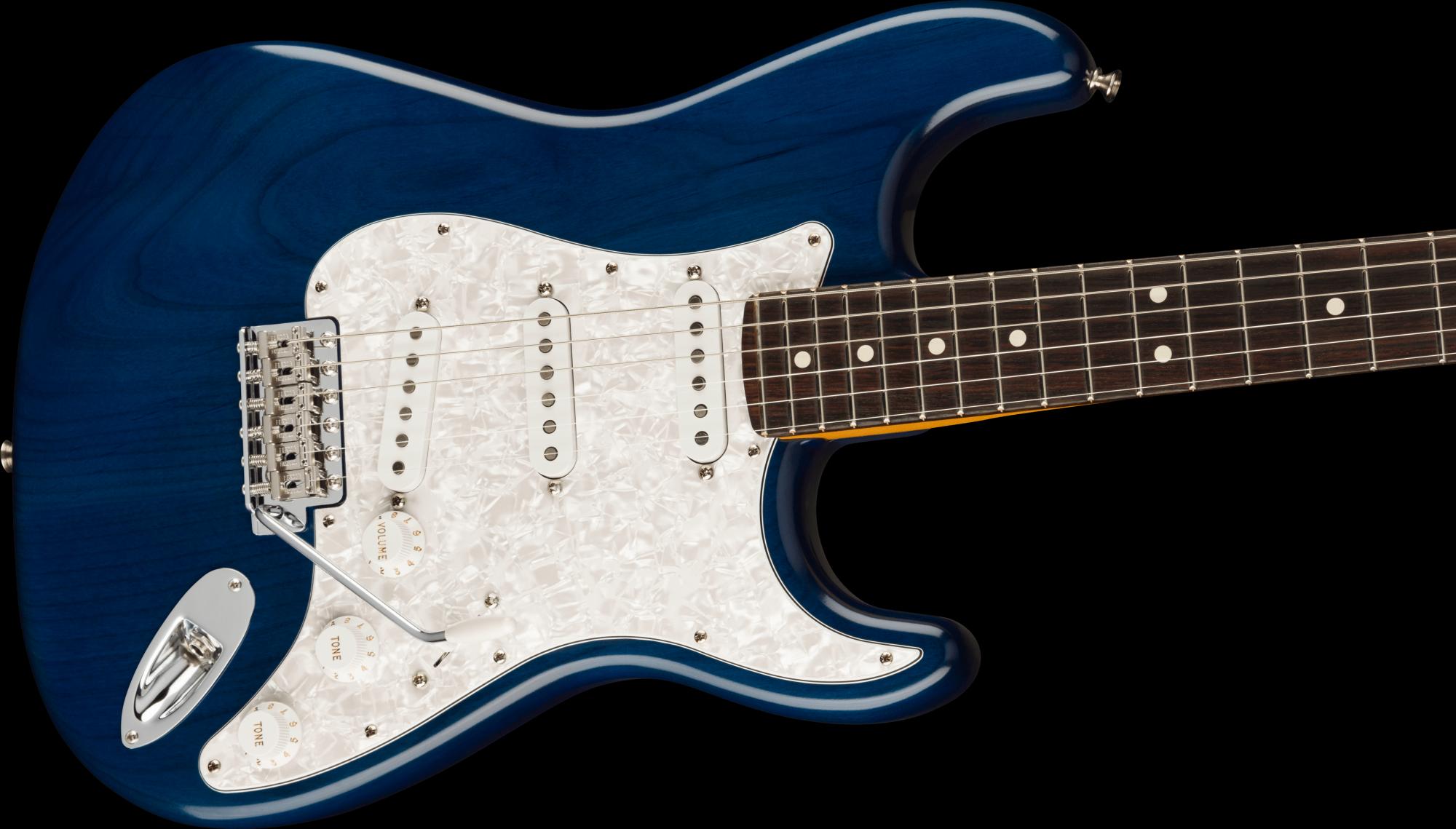 PRE-ORDER: Fender Cory Wong Stratocaster Rosewood Fingerboard - Sapphire Blue Transparent