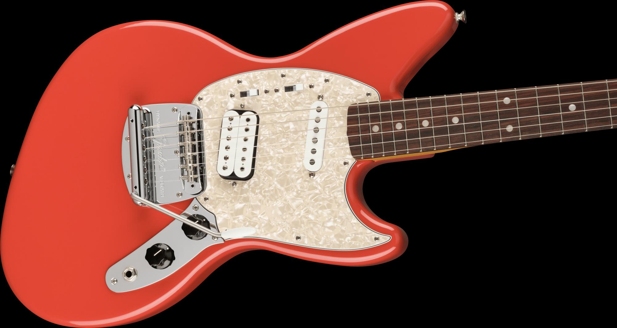 PRE-ORDER: Fender Kurt Cobain Jag-Stang Rosewood Fingerboard - Fiesta Red