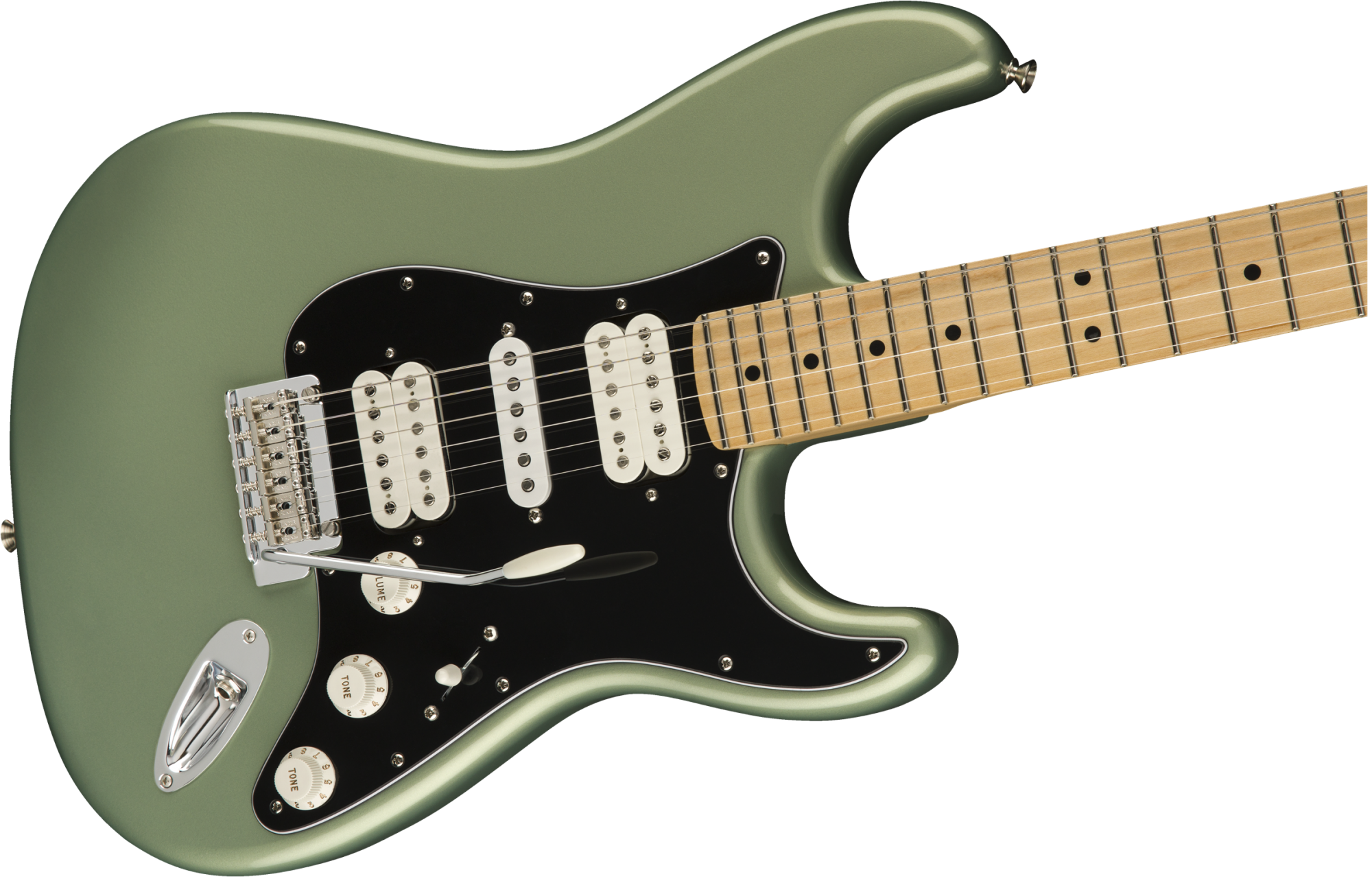 Fender Player Stratocaster HSH, Maple Fingerboard, Sage Green Metallic