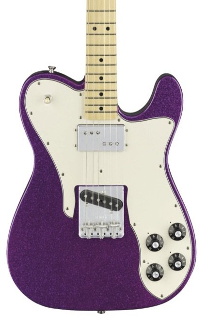 Fender FSR Limited Edition '72 Telecustom Electric Guitar-Purple Sparkle