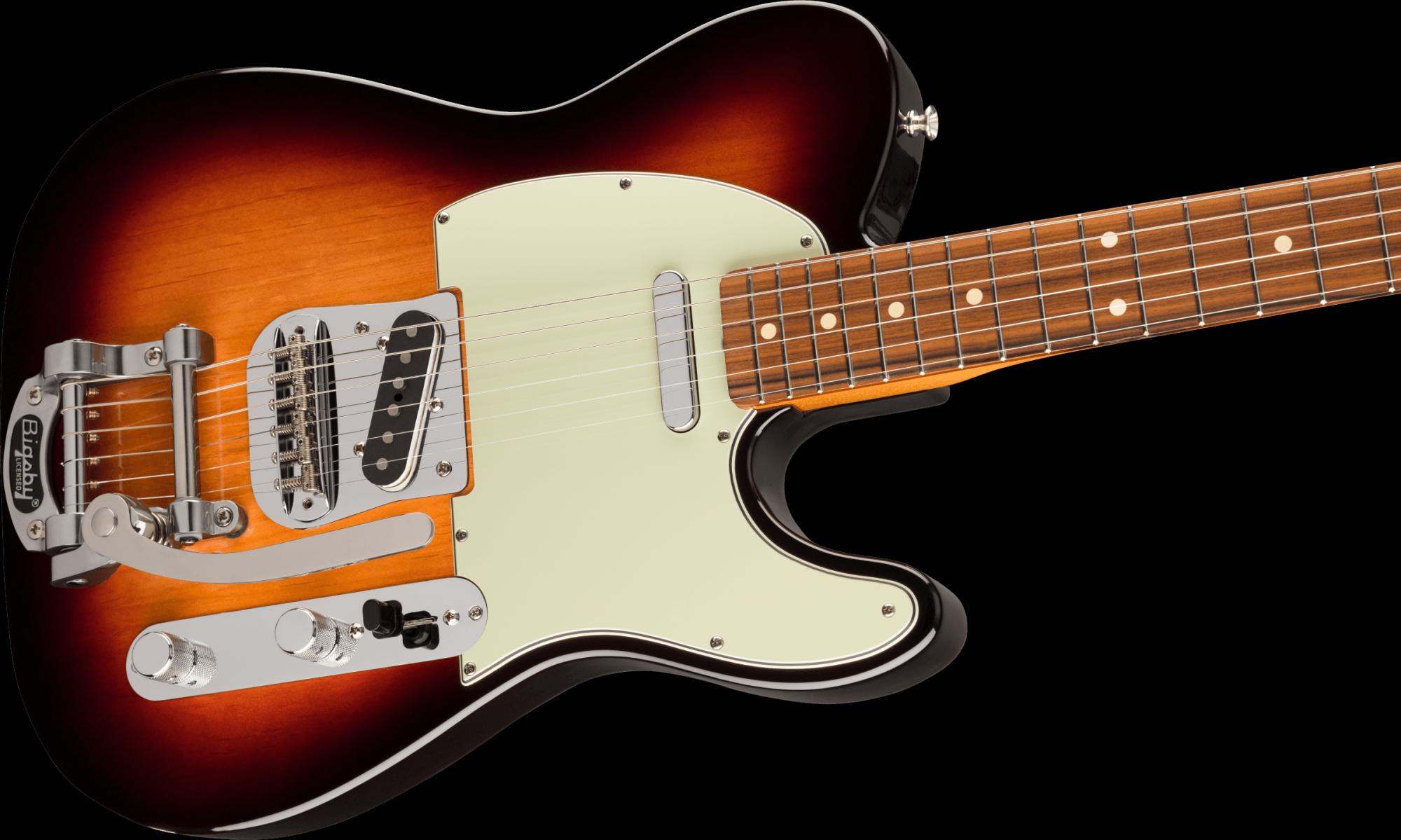 Fender Vintera '60s Telecaster Bigsby - 3-Color Sunburst