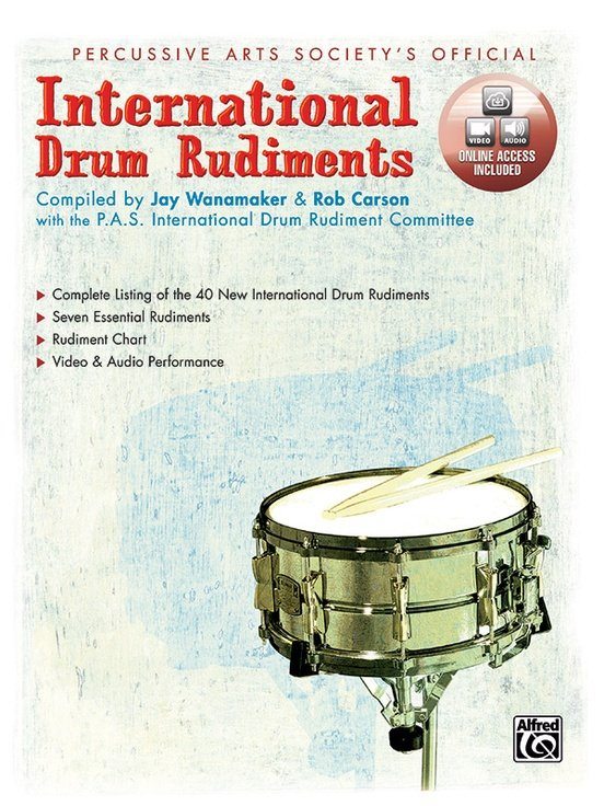 Alfred International Drum Rudiments
