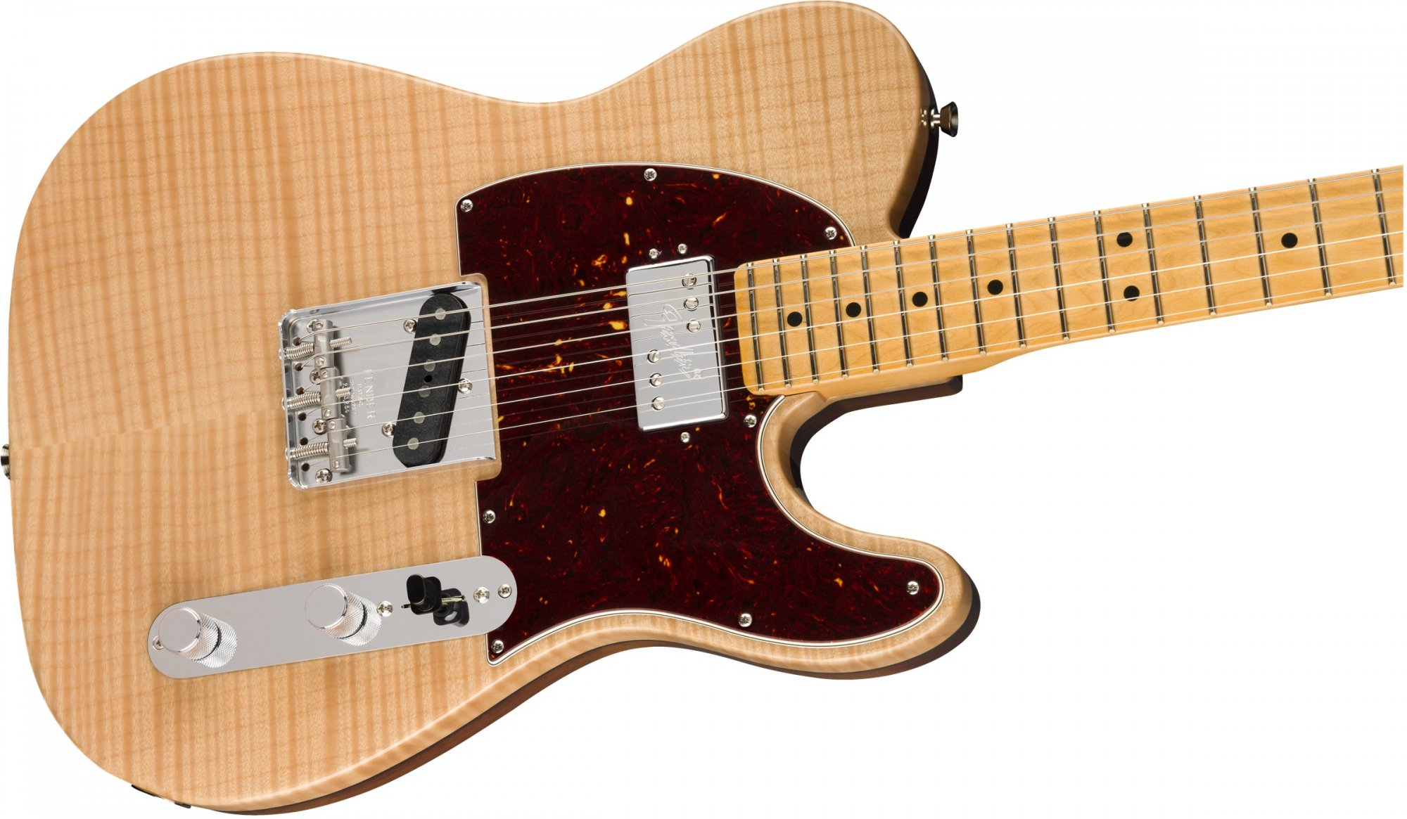 Fender Rarities Chambered Telecaster Flame Maple Top, Maple Neck, Natural