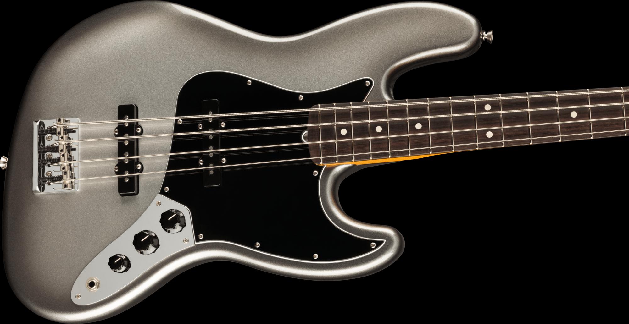Fender American Professional II Jazz Bass Rosewood Fingerboard - Mercury
