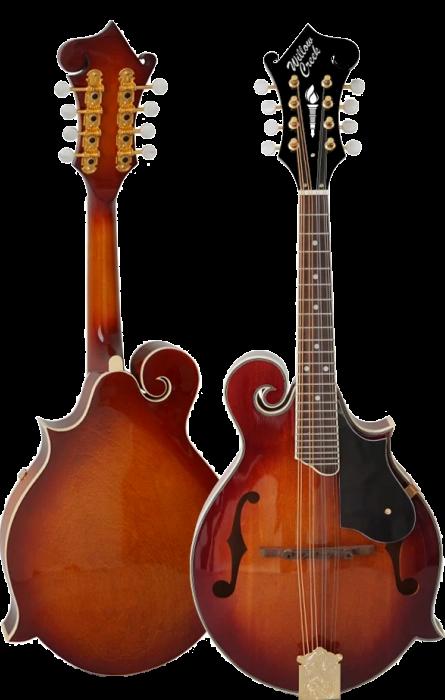Willow Creek FS95-VC F-Style Mandolin - Vintage Cherry