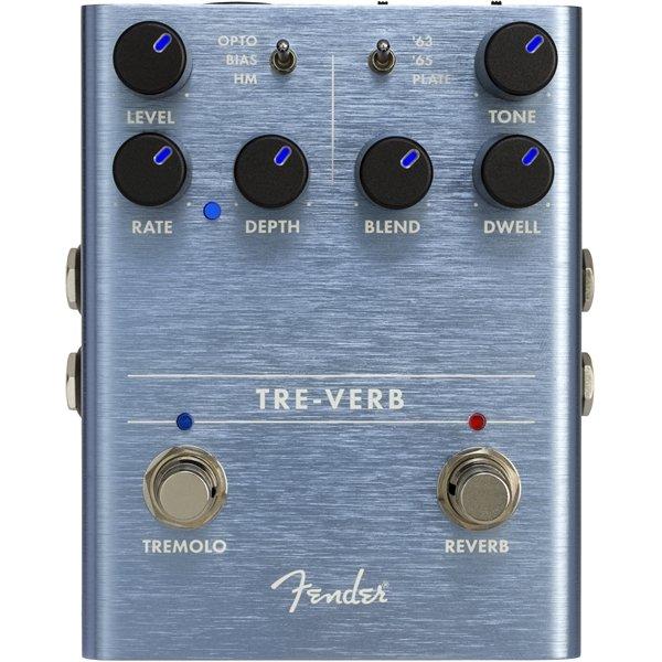Fender Tre-Verb Pedal