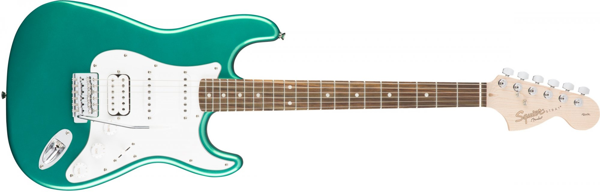 Fender Squier Affinity Series Stratocaster HSS Electric Guitar-Race Green