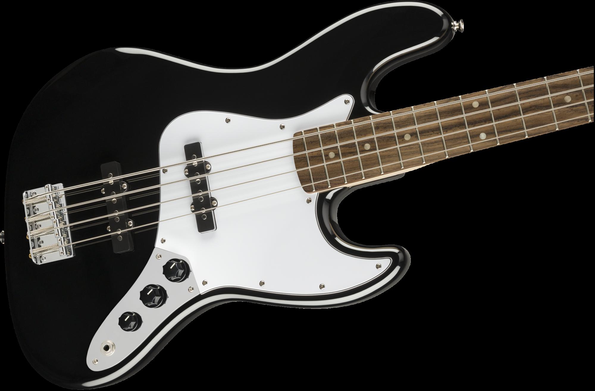 Squier Affinity Series Jazz Bass, Laurel Fingerboard, Black