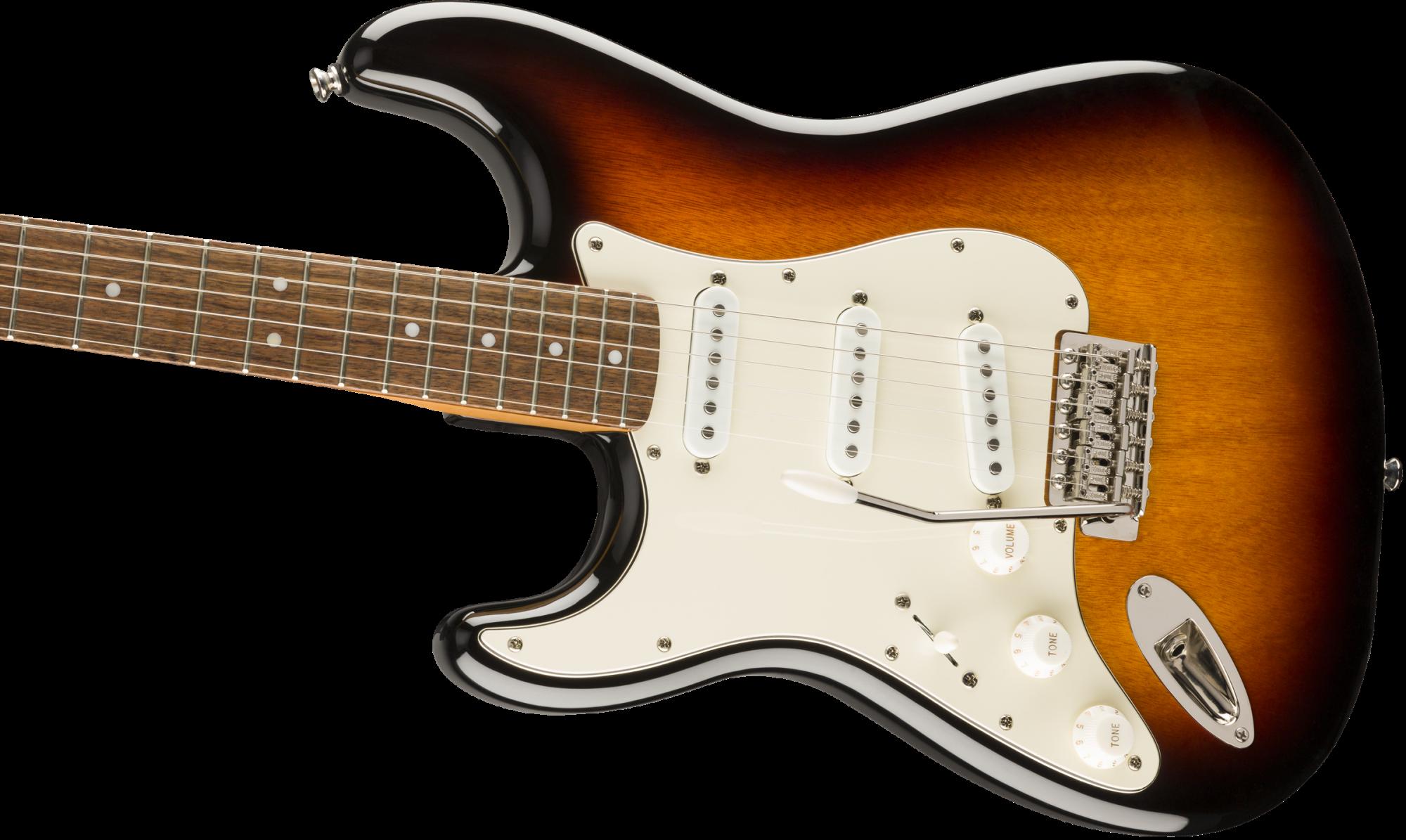 Fender Classic Vibe '60s Stratocaster Left-Handed, Laurel Fingerboard, 3-Color Sunburst