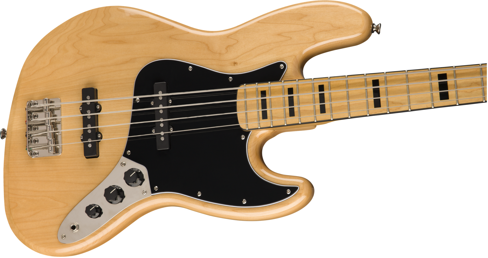 Squier Classic Vibe '70s Jazz Bass, Maple Fingerboard, Natural