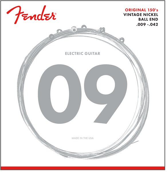 Fender 150L Original Pure Nickel Electric Guitar Strings