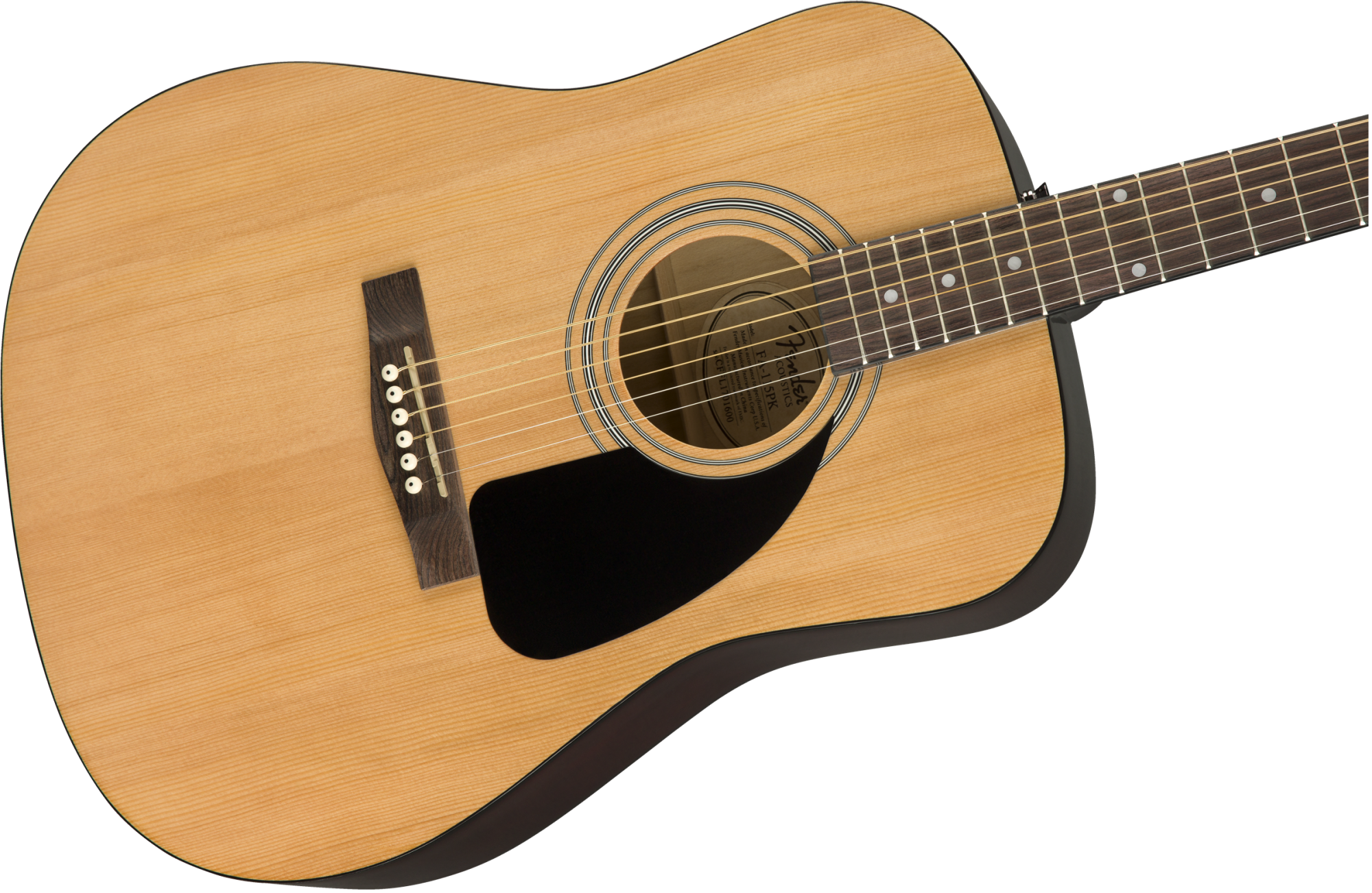 Fender FA-115 Dreadnought Acoustic Guitar Package w/ Bag, Strap, Picks, Strings and 3-Months of Fender Play