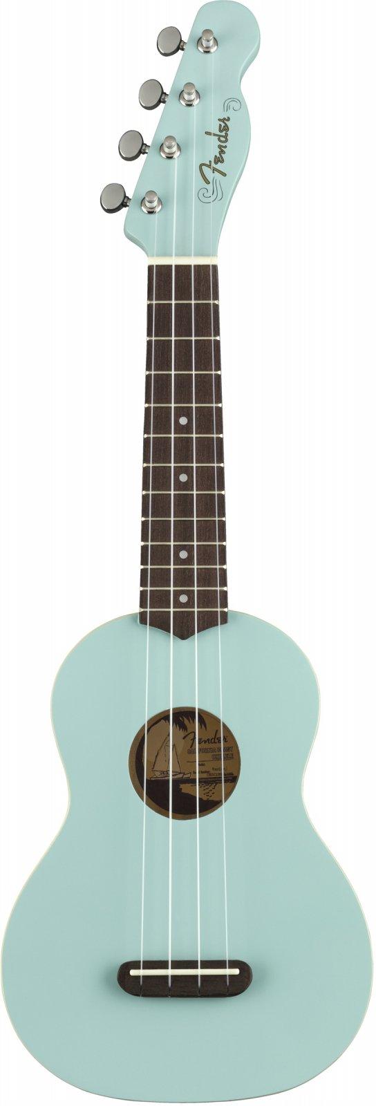 Fender Venice Soprano Uke-Daphne Blue