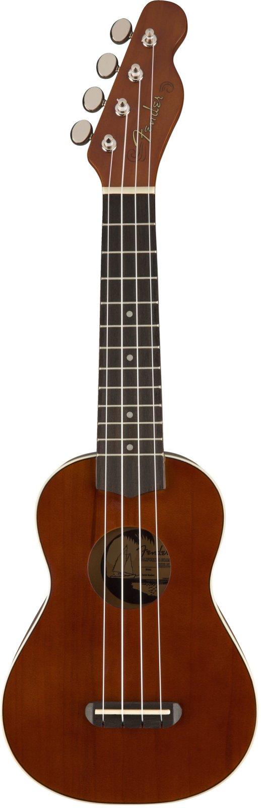 Fender Venice Soprano Uke-Natural
