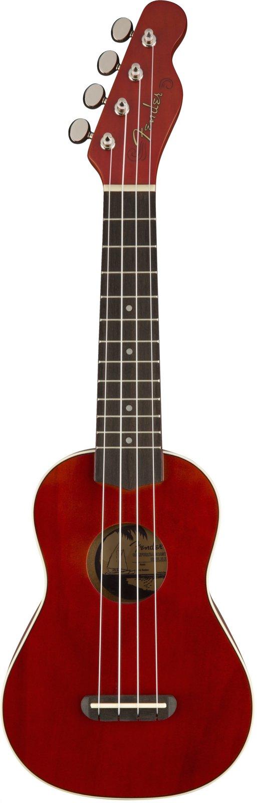 Fender Venice Soprano Uke - Cherry