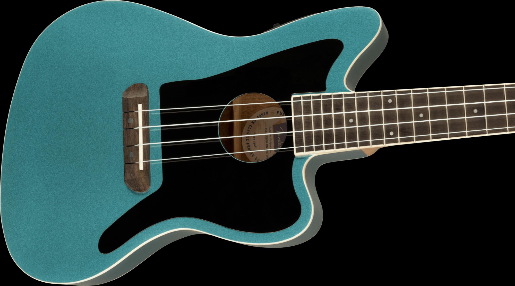 Fender Fullerton Jazzmaster Uke - Tidepool